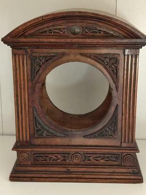 Art Nouveau Oak Clock Case Bracket 19th century