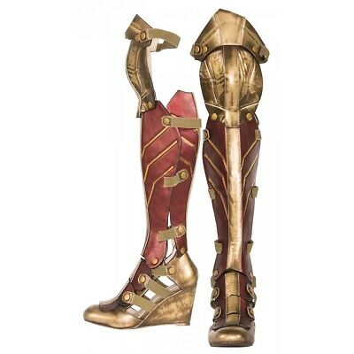 Wonder Woman Boots Costume Shoes Adult Wonder Woman Halloween