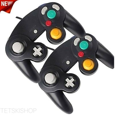 GameCube Controller Wii Compatible Replacement NGC Wired Analog D-Pad 2 Pack