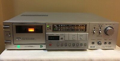 Akai Stereo Cassette Deck Model GX-F44R **FOR PARTS OR REPAIR**