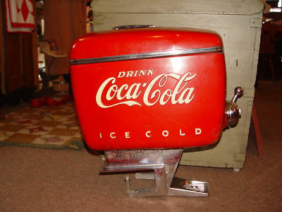 Raymond Loewy Outboard Motor Soda Fountain Dispenser for Coca Cola 1940s
