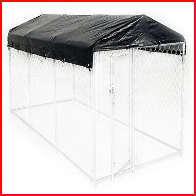 [No Tax] Weatherguard Kennel Frame & Cover Set for 28mm Kennel - 15'L x 5'W