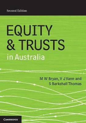 NEW Equity and Trusts in Australia By Michael Bryan Paperback Free Shipping