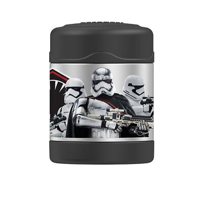 THERMOS Funtainer S/Steel Vacuum Insulated Food Jar 290ml Star Wars Stormtrooper