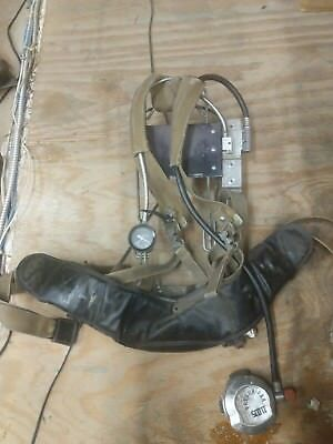 Scott Harness And Backplate Assembly 802181-02 SCBA