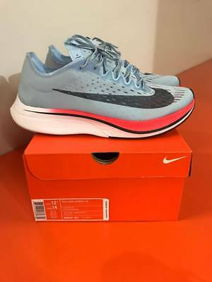 476c2119faa50 NIKE ZOOM VAPORFLY 4% (Ice Blue) Mens Shoes Size 12.5 100% Authentic ...
