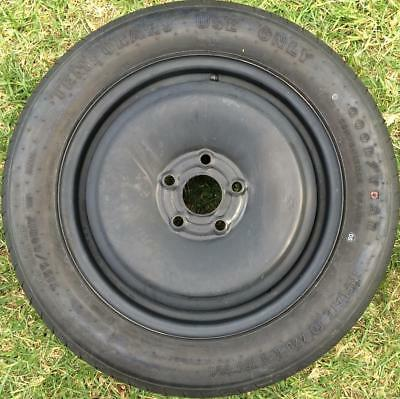 1x Holden Commodore VE VF Omega steel SPACE SAVER spare wheel SS SV6 155 80 R17