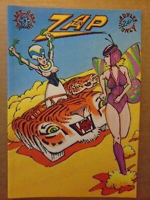 Zap #10 First printing