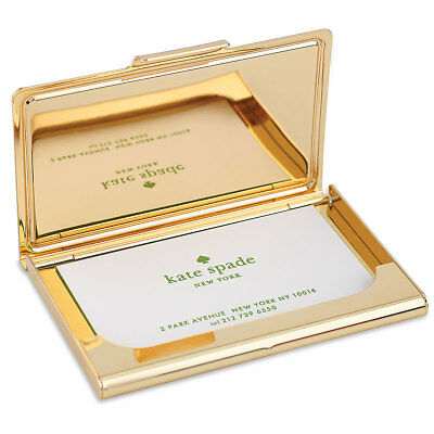 Kate Spade Womens Business Card Holder Snap Happy