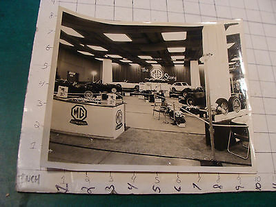 "vintage Original auto dealership photo: THE MG STORY Austin Healey 8x10"" WOW"