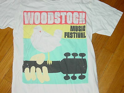 WOODSTOCK NY Three Days of Peace & Music  Hippies NEW  T-Shirt   sz.. SMALL
