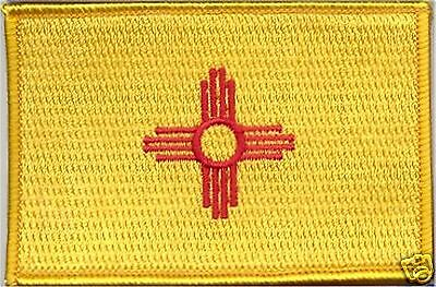 State Flag 100% Embroidered Patch - New Mexico