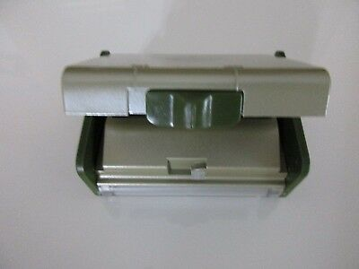 3 Slot Business Card Punch For  For Rotary File  Vintage Carl Personal Punch