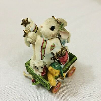 "My Blushing Bunnies ""Reach for The Stars"""" No. 611212 Enesco 1999"