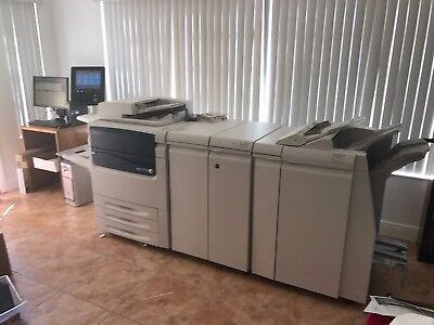 Xerox C75 Printer Refurbished 461.200 Clicks Very Good Condition