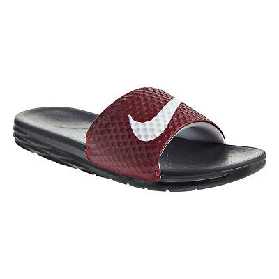 Nike Benassi Solarsoft Mens Sandals Team Red/White/Black 705474-602