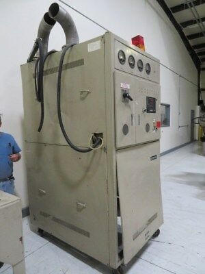 Matsui DMZ500 DR Used Material Dryer, Desiccant, App. 500 lb/hr, Yr.1988 #8107