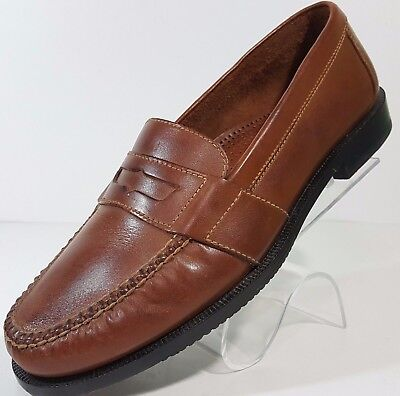 Cole Haan Penny Loafers Mens Size 10 M Light Brown Leather EUC
