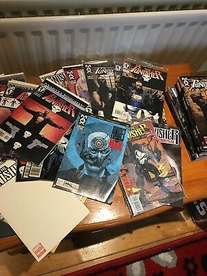 The Punisher Comic and Graphic Novel Bundle