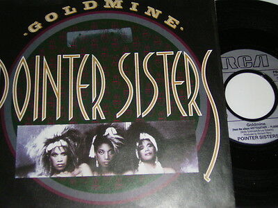 "7"" - Pointer Sisters Goldmine & Sexual Power - 1986 # 5708"