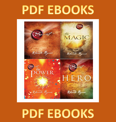 The Secret, The Magic, The Power, The Hero By Rhonda Byrne (EBOOK/PDF EMAILED)