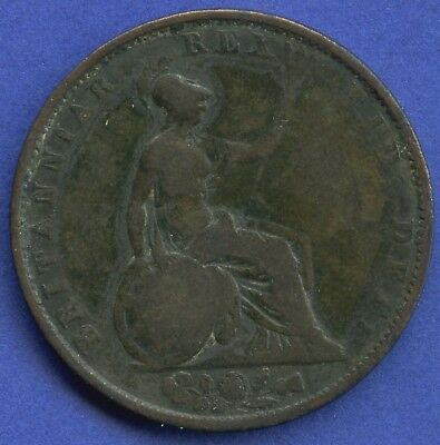 1831 Great Britain Half Penny Coin