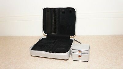 New Authentic Pandora Silver Travel Jewellery Case With Original Box And Pack