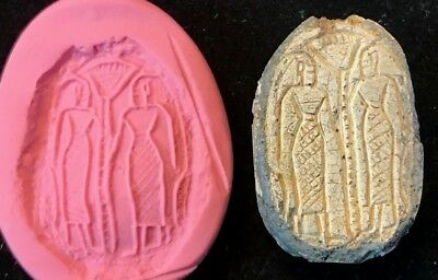 Ancient Egyptian Steatite Scarab - Huge; Early Second Intermediate Period 1600Bc