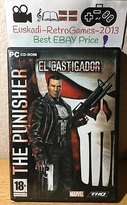 """The Punisher - El Castigador"" Pc Cd-Rom Completo Pal Esp."