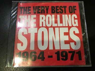 "CD Rolling Stones ""Very Best Of 1964 - 1971""  BRAND NEW **SEALED**  ABKCO"