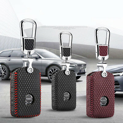 For Volvo XC90 15-2017 / XC60 2018Smart Remotes Key Bag Case Fob Cover Holder