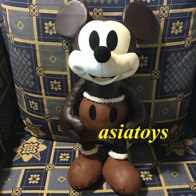 Genuine NWT Mickey Mouse Memories April Plush Disney Store Limited Edition pilot