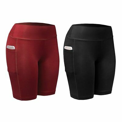 Men Women Pants Compression Shorts Sports Gym Fitness Running Exercise Trousers
