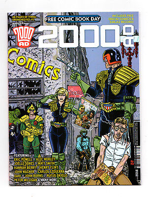 2000Ad   Free Comic Book Day 2016