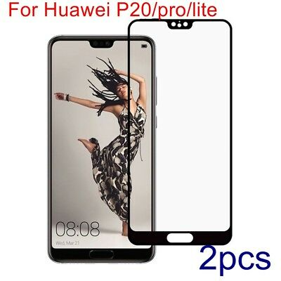 For Huawei P20/pro/lite Full cover Premium Tempered Glass Film Screen Protective
