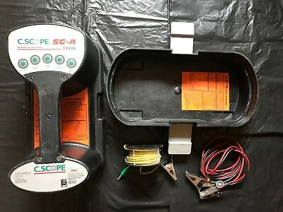 C-Scope SG-A Signal Generator 33khz Transmitter and tools