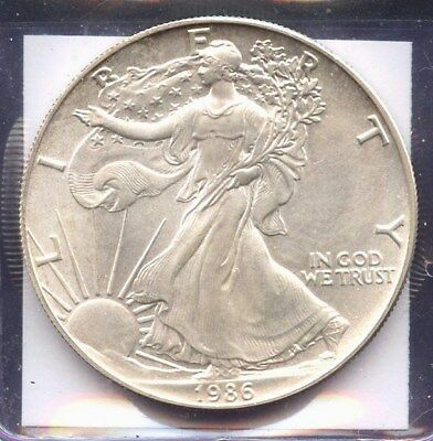 Estados Unidos, Moneda, Liberty Eagle, One Dollar, 1986, Coin Silver Onza Usa