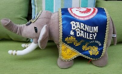 Ringling Bros Barnum & Bailey 142nd Edition Collectible Stuffed Elephant
