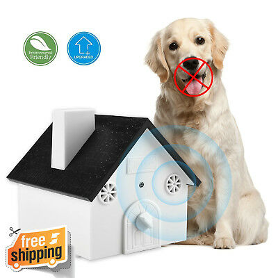 Ultrasonic Anti Barking Device Sonic Safe Bark Control Stop Dog Barking, Mount