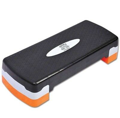 Aerobic Stepper Platform Adjustable Yoga Step Board Gym Fitness Exercise