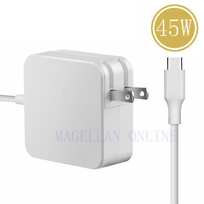 45W Type-C Ac Charger Power Supply Adapter Cord For MacBook 12inch,Nexus Samsung