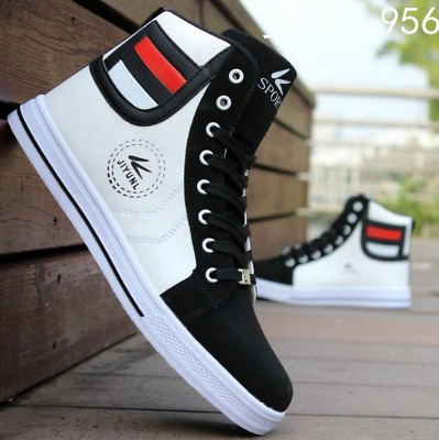 size 40 92ecf 80b51 Wholesale New 2018Fashion Men s High Top Sneakers Casual Lace Up Shoes