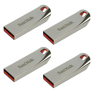 SanDisk 64GB 32GB 16GB 8GB Cruzer Force CZ71 USB Flash Pen Metal Drive OTG Lot