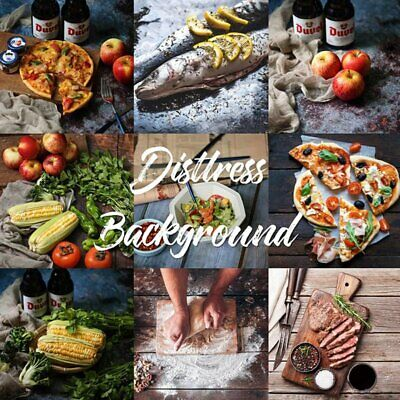 Dual Double Sided Backdrop Paper Food Product Instagram Photo Drop Background