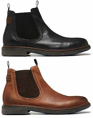 Mens Julius Marlow - Enable Formal/work/casual Leather Boots Shoes Men's