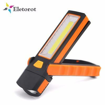Super Bright Adjustable COB LED Work Light Inspection Lamp Hand Torch Magnetic