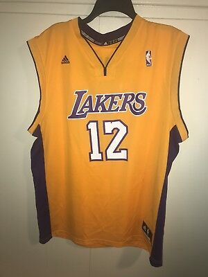 half off 6832e 3f76d DWIGHT HOWARD LOS Angeles Lakers NBA Basketball Jersey Adidas Adult large