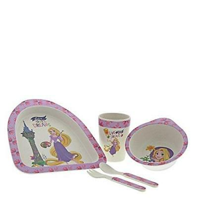 Disney Enchanting A29238 Rapunzel Organic Bamboo Dinner Set