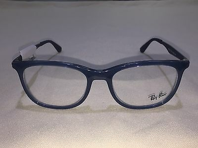 5e07af9c3c89b NEW Ray Ban RB7078 (8019) Transparent Light Blue 53  18 145 Eyeglasses