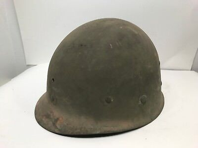 WW2 Helmet Liner, Stamp CAPAC Mfg. Co No Chinstrap Or Sweatband